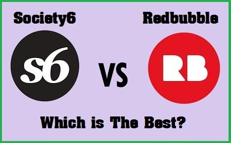 society6 vs zazzle vs redbubble