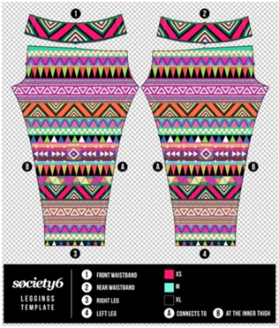 Society6 leggings review sizing chart society6 coupon for Society 6 promo code