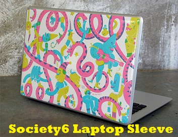 Society6 Laptop Sleeve review