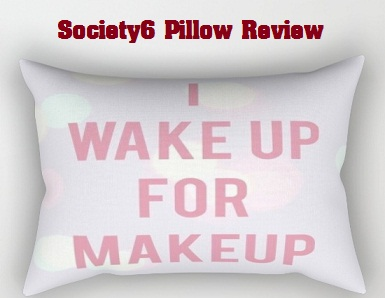 society6 pillow reviews and sale