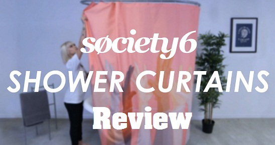 review of Society6 Shower Curtains